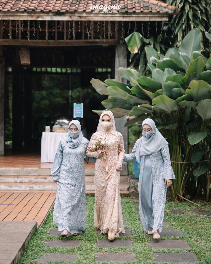 The Intimate Wedding Of Rizka & Farid by Armadani Organizer - 020