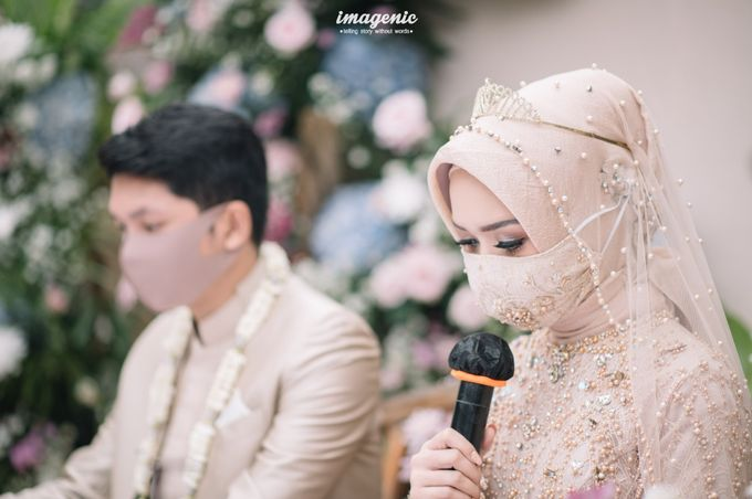 The Intimate Wedding Of Rizka & Farid by Armadani Organizer - 007