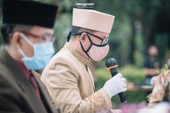 The Intimate Wedding Of Rizka & Farid by Armadani Organizer - 003