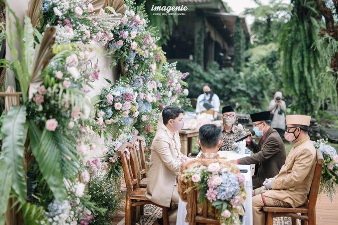 The Intimate Wedding Of Rizka & Farid by Armadani Organizer - 006