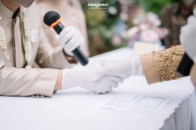 The Intimate Wedding Of Rizka & Farid by Armadani Organizer - 001