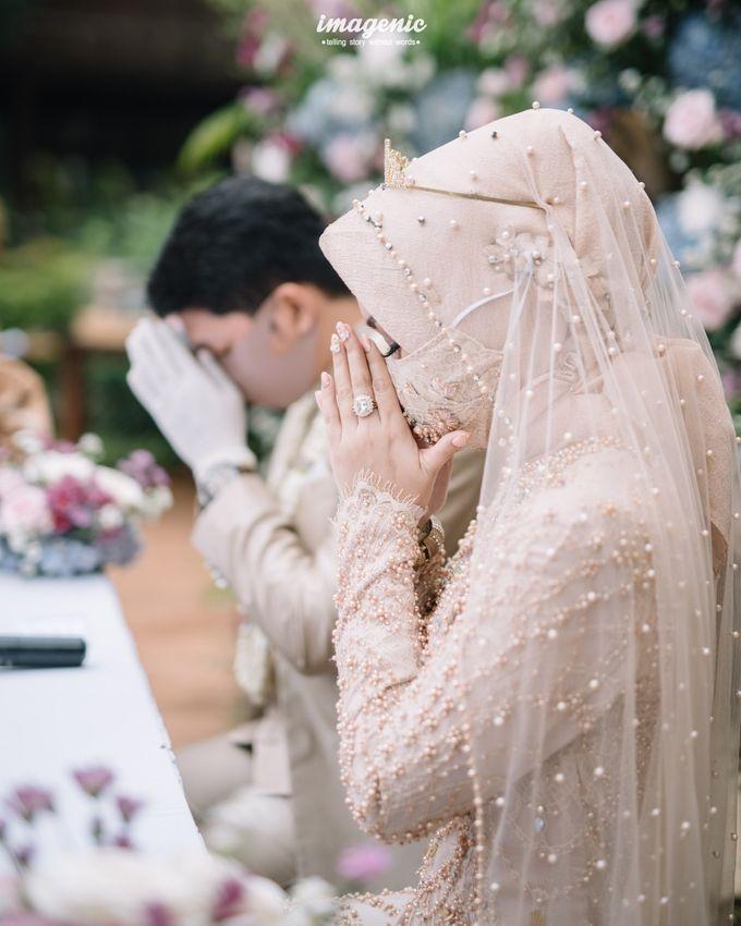 The Intimate Wedding Of Rizka & Farid by Armadani Organizer - 010