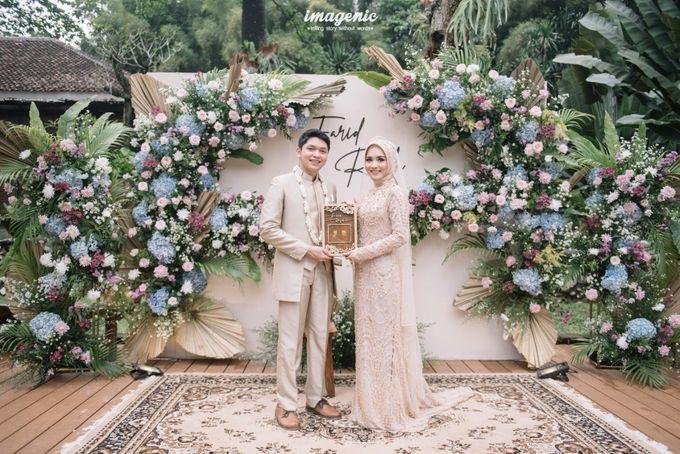 The Intimate Wedding Of Rizka & Farid by Armadani Organizer - 023