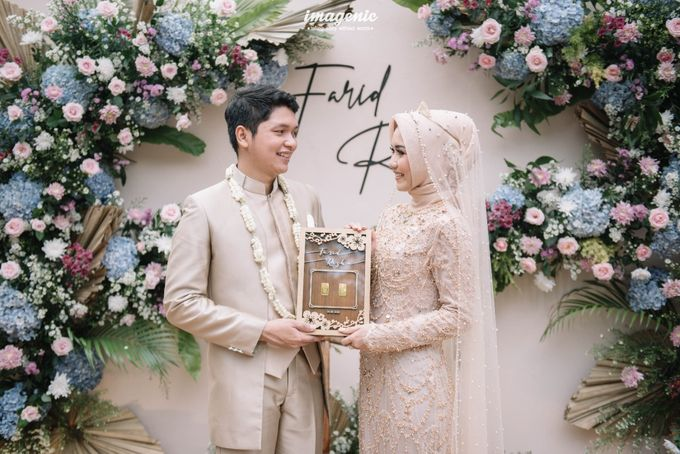 The Intimate Wedding Of Rizka & Farid by Armadani Organizer - 012