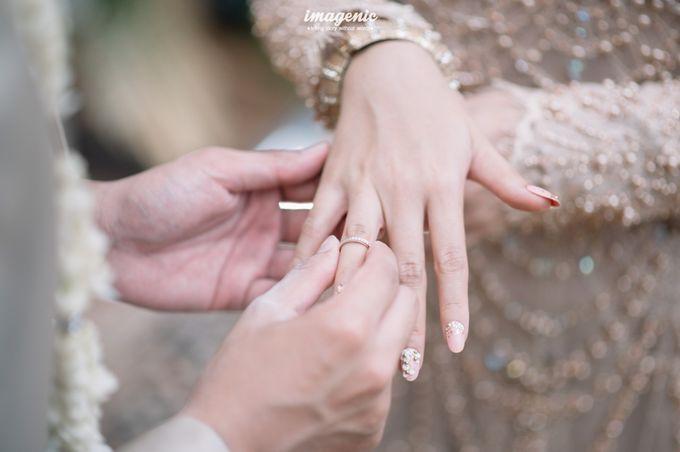 The Intimate Wedding Of Rizka & Farid by Armadani Organizer - 014