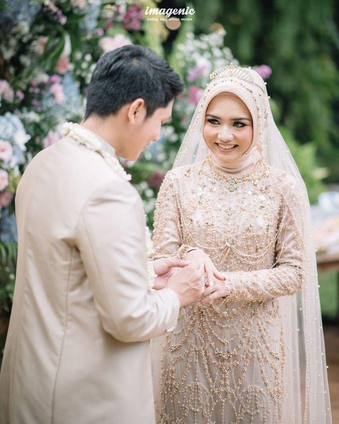 The Intimate Wedding Of Rizka & Farid by Armadani Organizer - 009