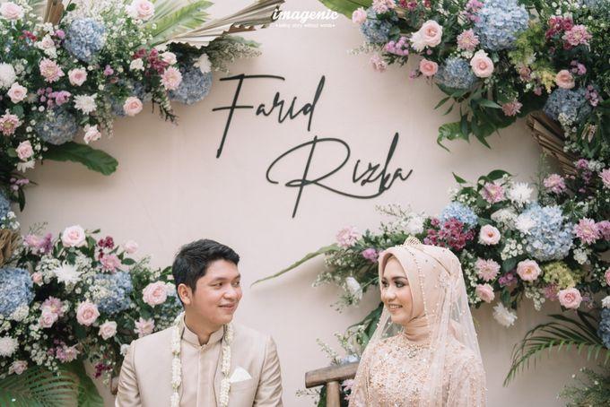 The Intimate Wedding Of Rizka & Farid by Armadani Organizer - 019