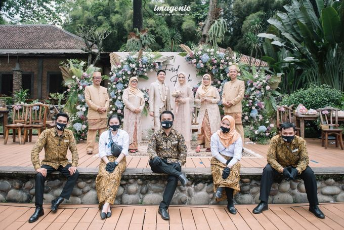The Intimate Wedding Of Rizka & Farid by Armadani Organizer - 024