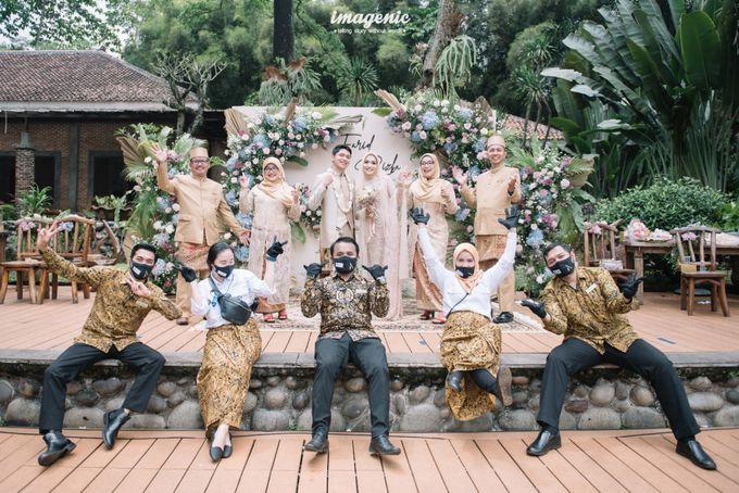 The Intimate Wedding Of Rizka & Farid by Armadani Organizer - 022