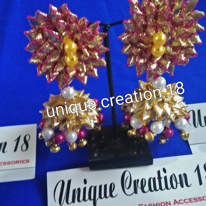 Handmade Gota Jewellery by Unique Creation 18 - 001