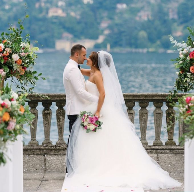 Luxury Wedding in Villa Pizzo - Lake Como by Elena Panzeri Makeup & Hair Artist - 002