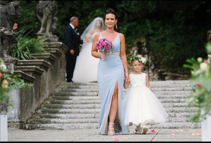 Luxury Wedding in Villa Pizzo - Lake Como by Elena Panzeri Makeup & Hair Artist - 006
