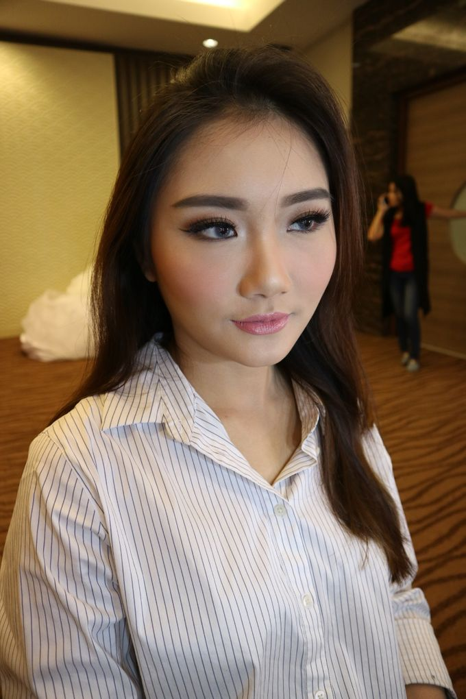 Add To Board Makeup For Sofie Hair's Semi Private Class by Silvia Kurnia  Dewi MUA - 002