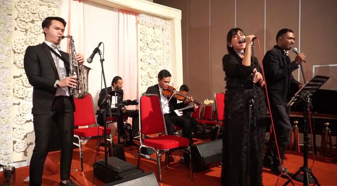 Jazz Entertainment Wedding Suncity Ballroom Jakarta - Double V entertainment by Anthony Stevven - 006