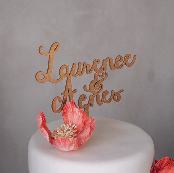 Cake Topper by Nana Cake Boutique - 002