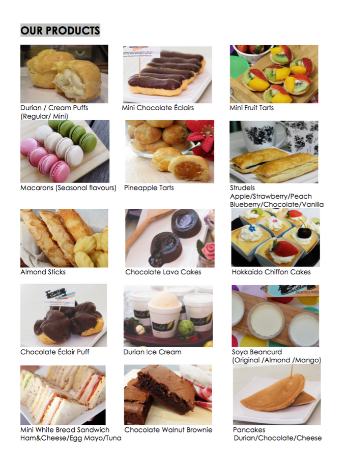Pastry Bundles Menu by Sunlife Pastries - 003