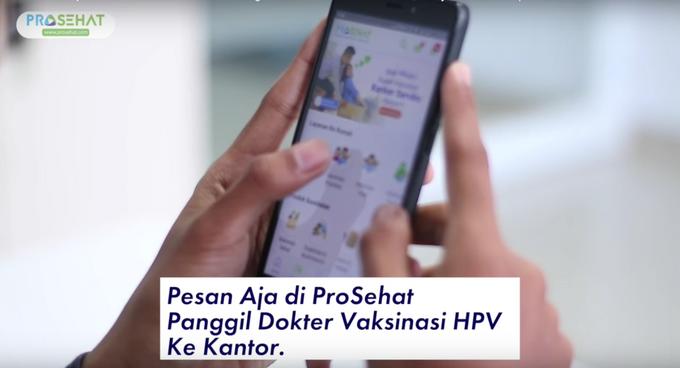 Paket Vaksinasi Kanker Serviks ke Rumah HPV 4 strain 3 kali suntik by ProSehat - 006