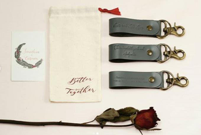 Keychain - Jonathan & Carmen by Rove Gift - 002