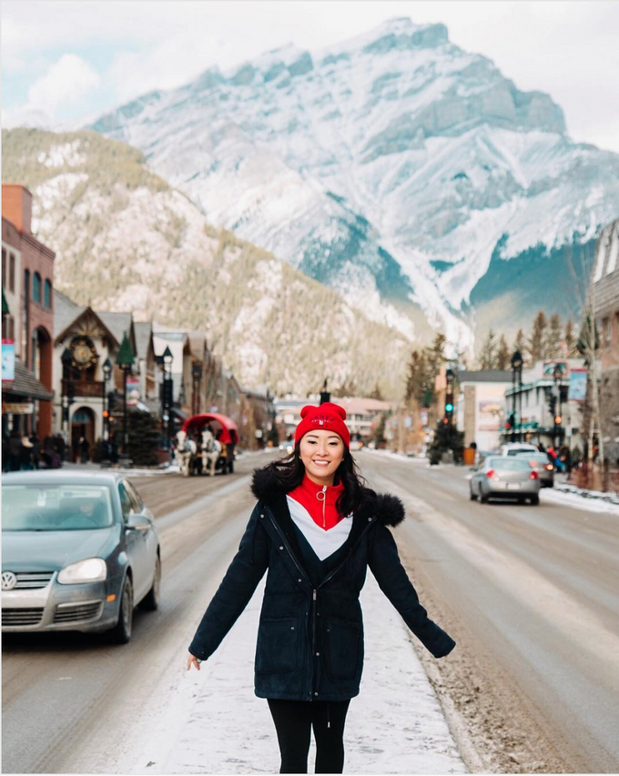 Cindy Cendana in Banff by SweetEscape - 001