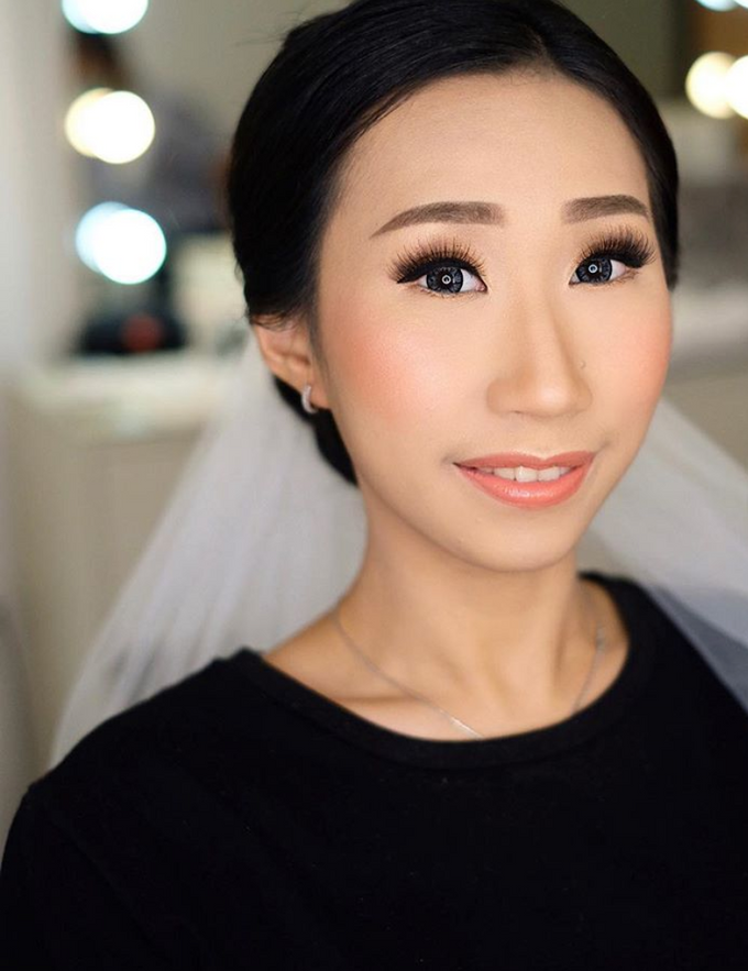 Wedding makeup trial for Ms Anet by Silvia Jonathan - 001