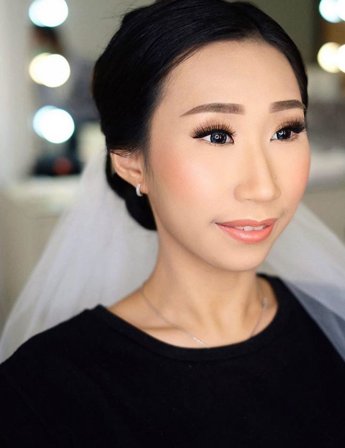 Wedding makeup trial for Ms Anet by Silvia Jonathan - 002