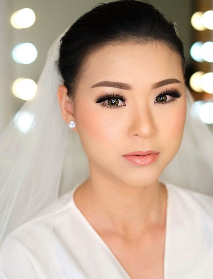 Wedding makeup class by Silvia Jonathan - 001