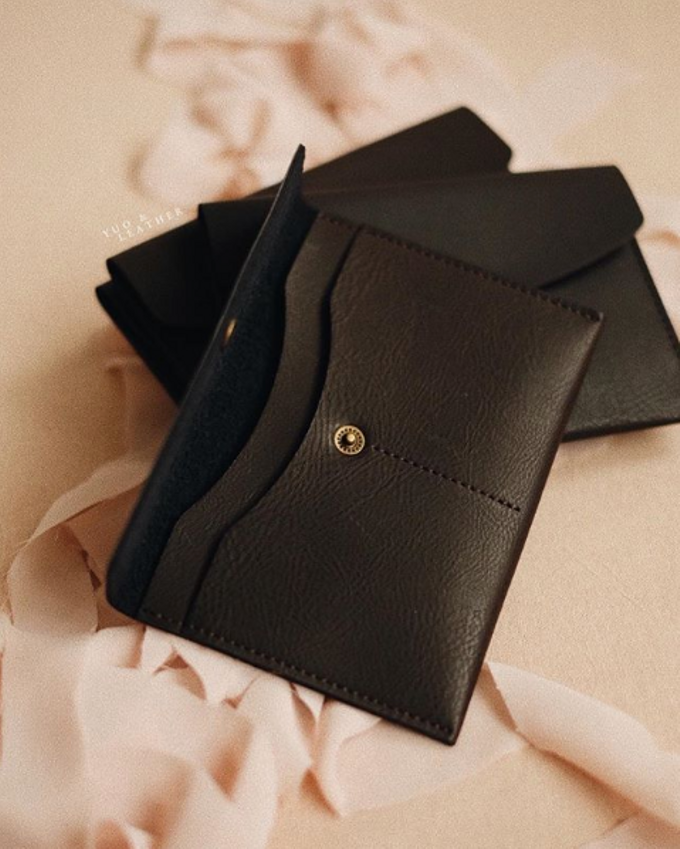 Eric and Evellyn Passport Wallet by Yuo And Leather - 003