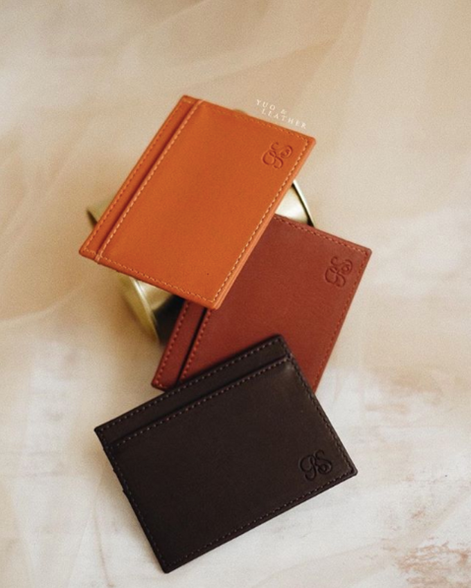 Roy & Sisca Card Holder Slip by Yuo And Leather - 003