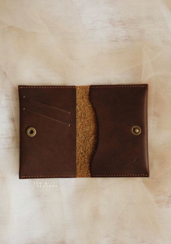 Daniel and Puspa Simple Wallet by Yuo And Leather - 002