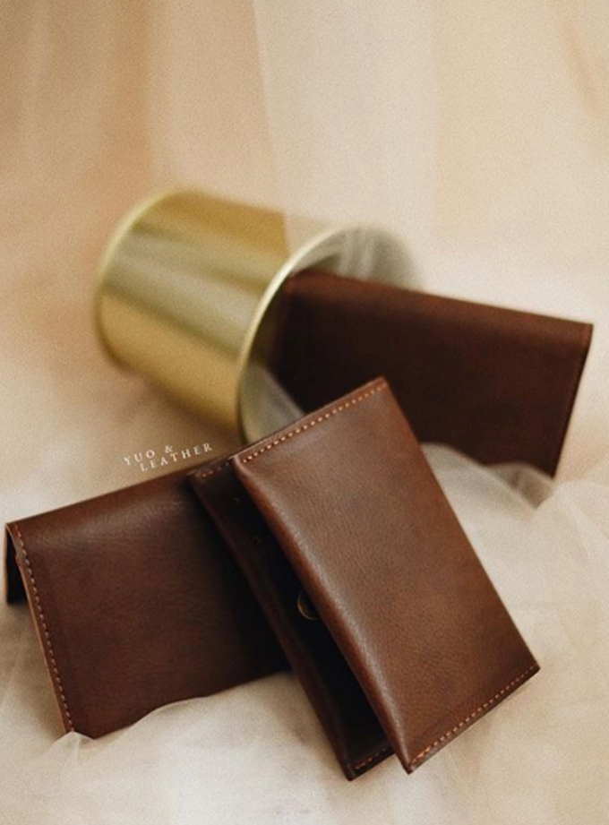 Daniel and Puspa Simple Wallet by Yuo And Leather - 003