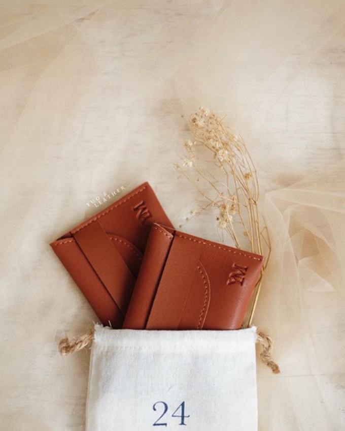 Yeremia & Mourene Card Holder by Yuo And Leather - 001