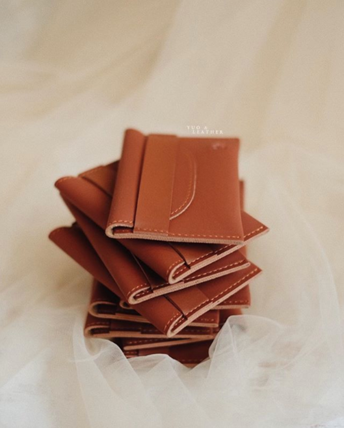 Yeremia & Mourene Card Holder by Yuo And Leather - 003