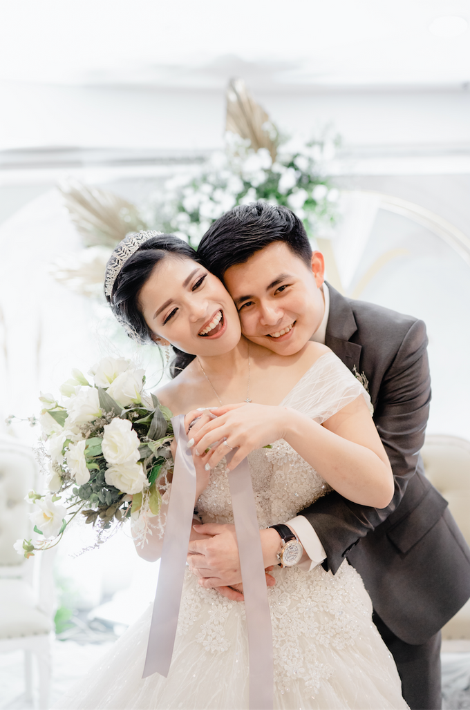 THE WEDDING OF YOHANES & VERONICA by Cerita Bahagia - 011