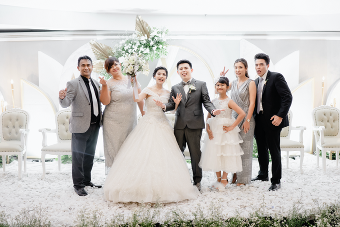 THE WEDDING OF YOHANES & VERONICA by Cerita Bahagia - 010