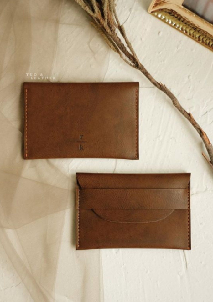 Roy & Katherine Card Holder by Yuo And Leather - 002