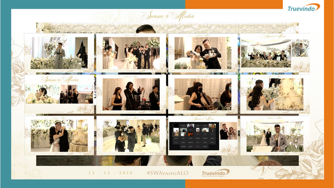 Swaine & Alodia Virtual Online Wedding Live Streaming Reception by Truevindo - 001