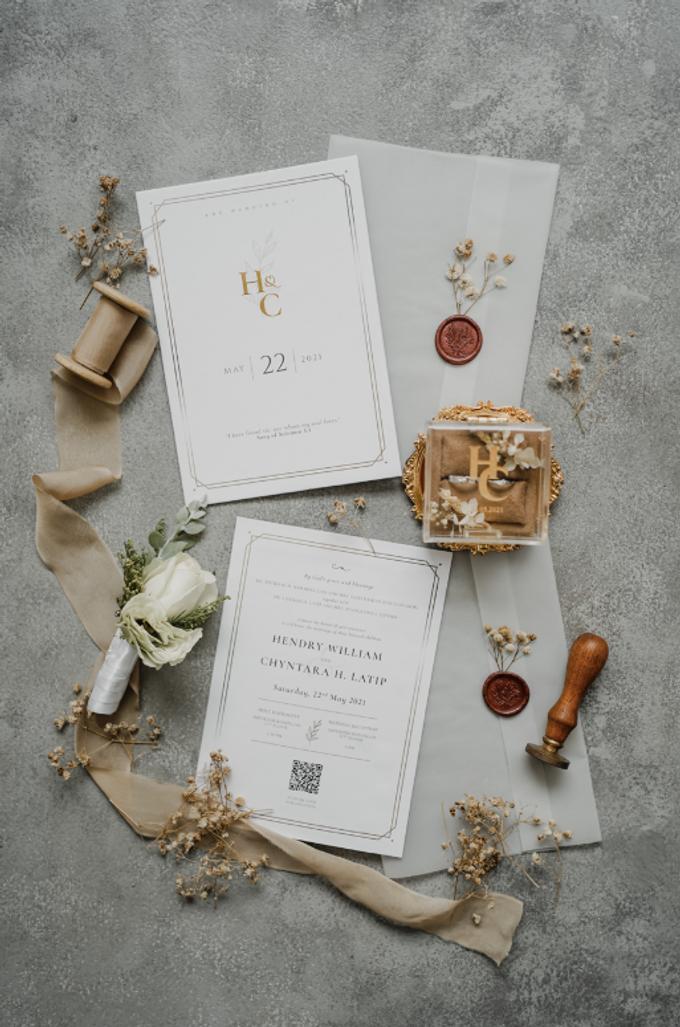 The wedding of Hendry & Chyntara by Ivow Wedding - 007