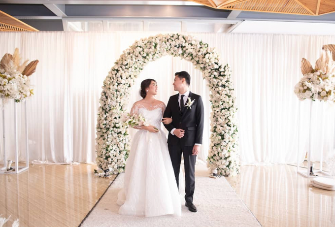 Ivan & Tiffany Wedding Decoration by Valentine Wedding Decoration - 024