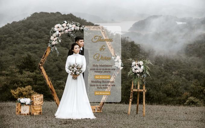 Thomas & Vivien - Bronze Package by Wedbio.com - elegant wedding website & online rsvp - 001