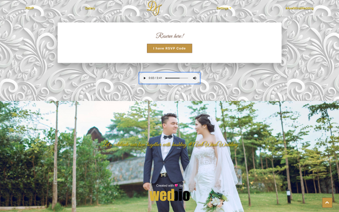 Axel & Wina - Platinum Package by Wedbio.com - elegant wedding website & online rsvp - 003