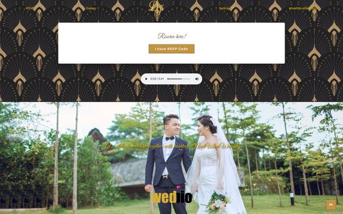 Axel & Wina - Platinum Package by Wedbio.com - elegant wedding website & online rsvp - 006