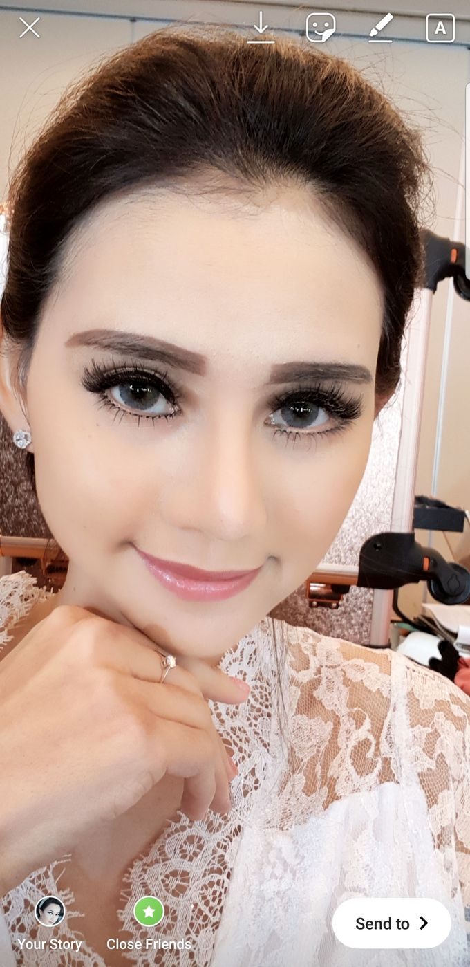 Makeup For Bride by Evlynmakeupartist - 002