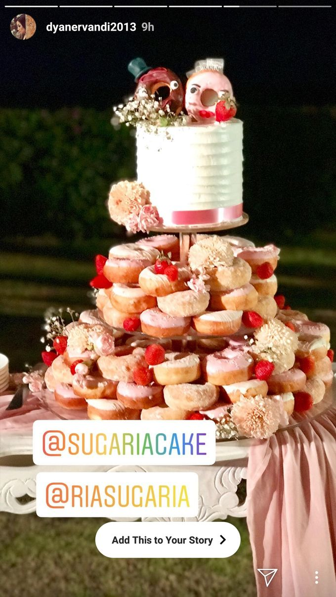Doughnut In Couple by Sugaria cake - 001