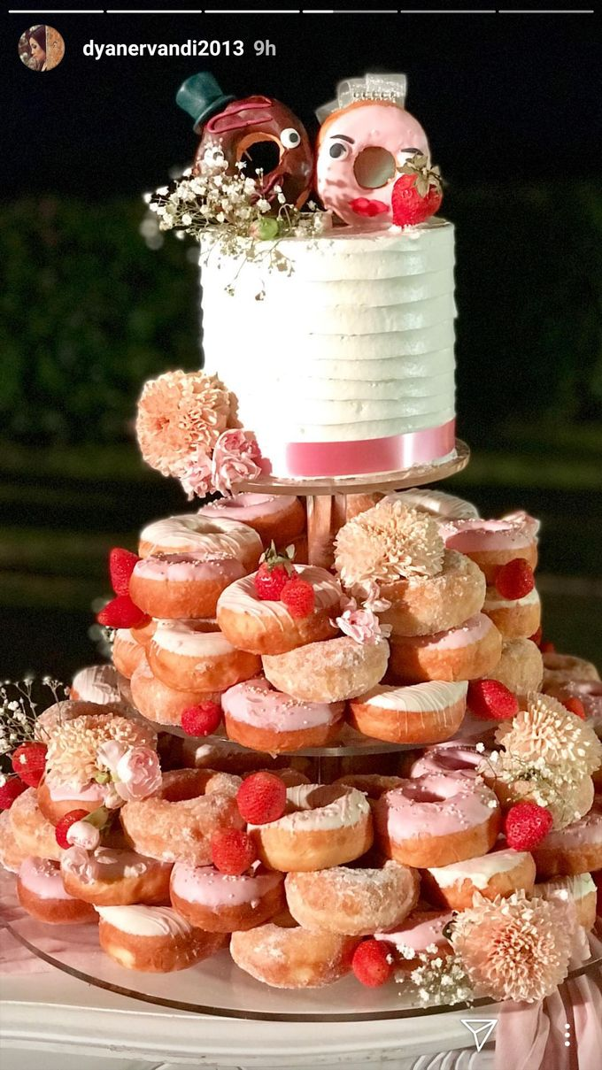 Doughnut In Couple by Sugaria cake - 005