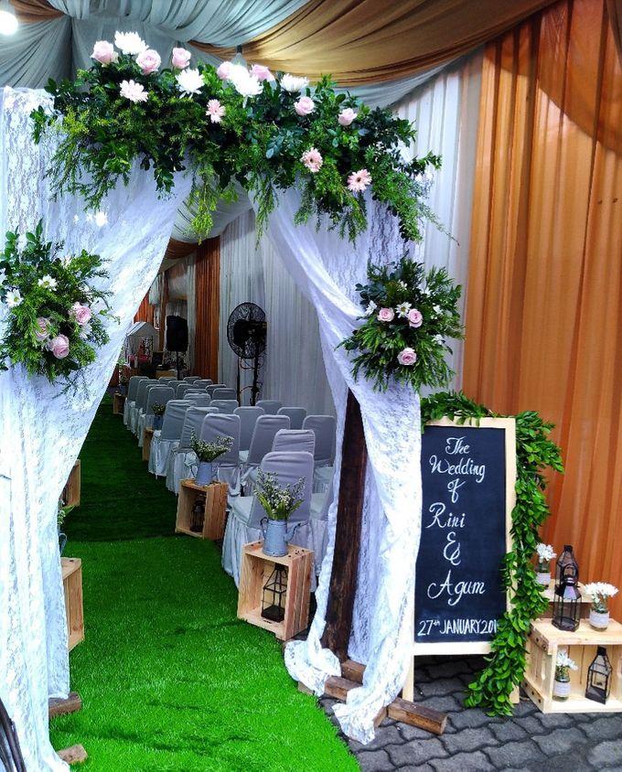 Dekorasi Pernikahan Agum Dan Rini By Hana Seserahan