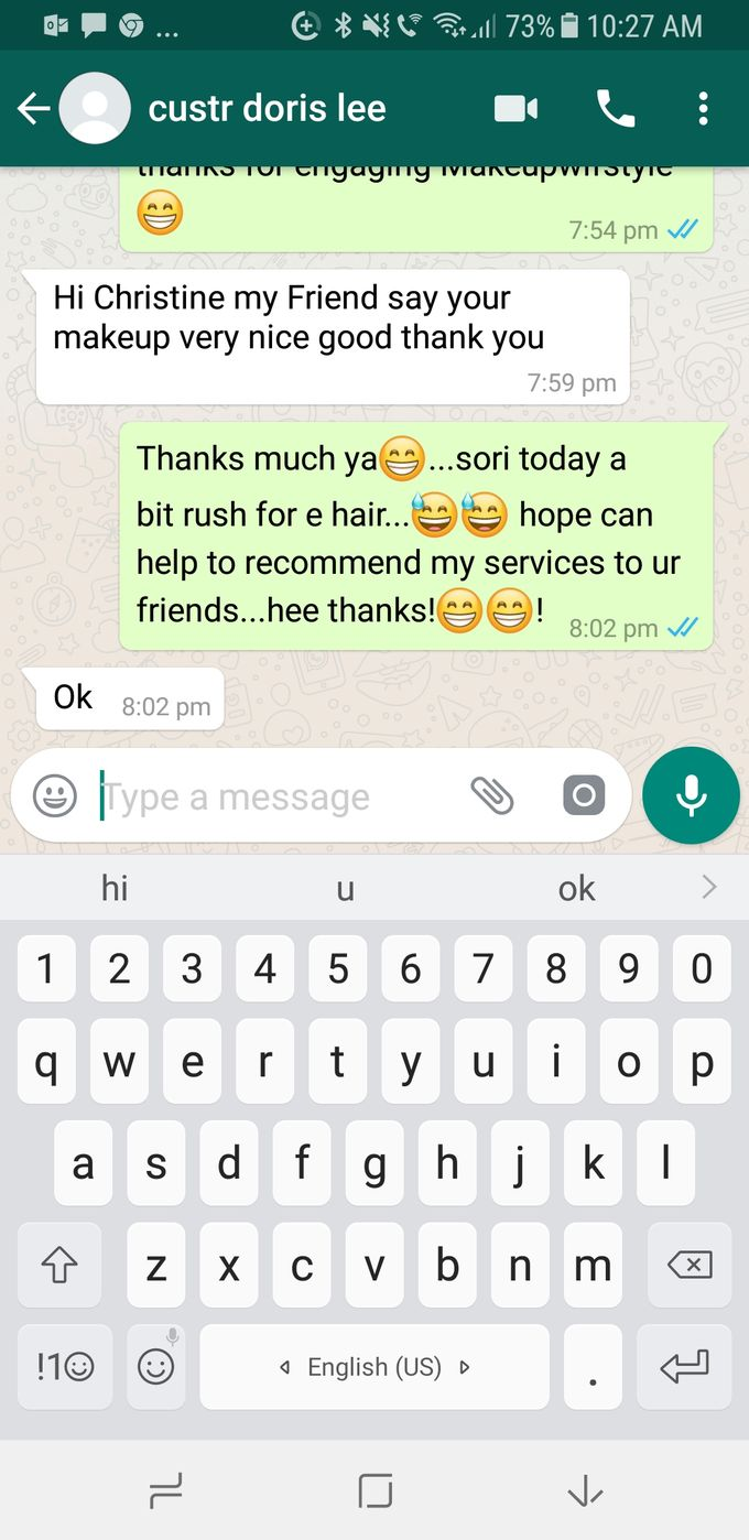 Happy Clients Compliments and Feedbacks by Makeupwifstyle - 008