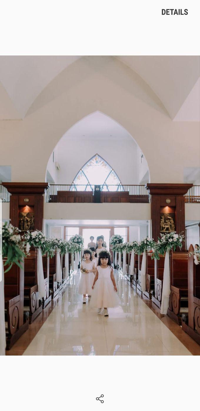 William & Amelia Bali Wedding by LITTLE BRIDE - 002