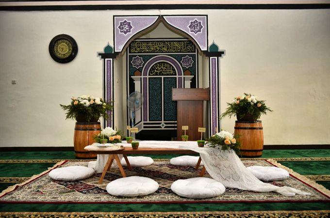 Dekorasi Akad Nikah Fila dan Deni by Hana Seserahan - 005