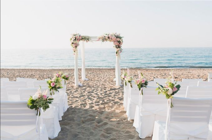 Beach Wedding by Eventous Weddings and Events - 003
