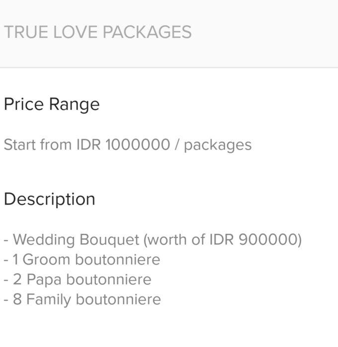Wedding Pricelist (WA: 081285408526) by Frisch Florist - 003